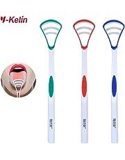 FANCI Tongue Scraper Tongue Brush 3 Color Pack(3 pcs)