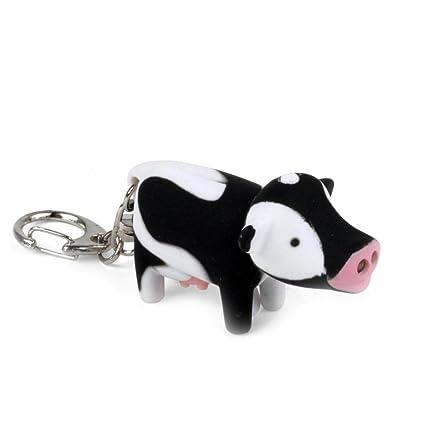 Amazon.com: Generic Cadena de clave de vaca y linterna led ...