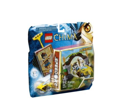 with LEGO CHIMA design