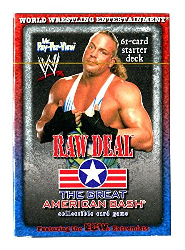 WWE Wrestling Raw Deal Trading Card Game The Great American Bash RVD Mr. Pay Per View Starter Deck by WWE