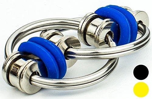 Price comparison product image Flip-it! - Bike Chain Fidget (Blue)