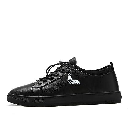 88a840c9a824e Amazon.com: Left&Right Men's Black Slip Resistant Trainers,Classics ...