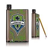 Keyscaper KBA5SM-0MLS-SSDP01 Flat Water Bottle Drinkware, Logo