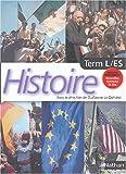 Histoire, terminale L-ES
