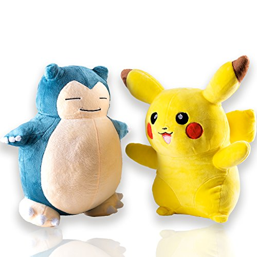 Snorlax Costume For Sale (Pokemon Pikachu and Snorlax Plush Doll)