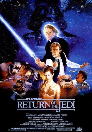 Star Wars- Return Of The Jedi Entertainment Poster Print