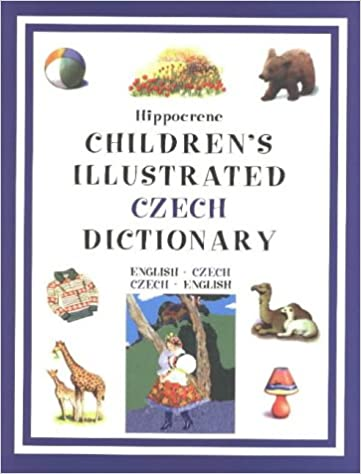 Childrens Illustrated Czech Dictionary
