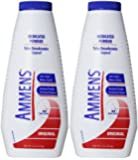 Ammens Medicated Powder, Original Formula, 11-Ounce Bottles (Pack of 2)