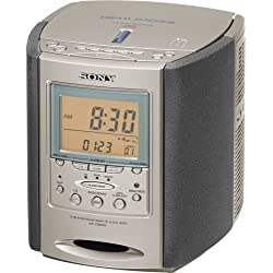 Sony ICF-CD863V AM/FM/TV/Weather Clock Radio/CD Player (Discontinued by Manufacturer)