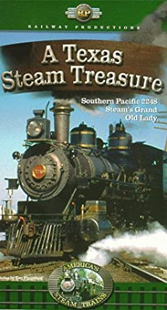 Amazon.com: Americas Steam Trains-A Texas Steam Treasure ...