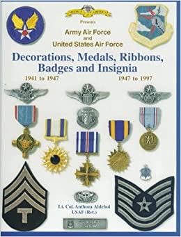 Army air force and united states air force for Air force decoration guide