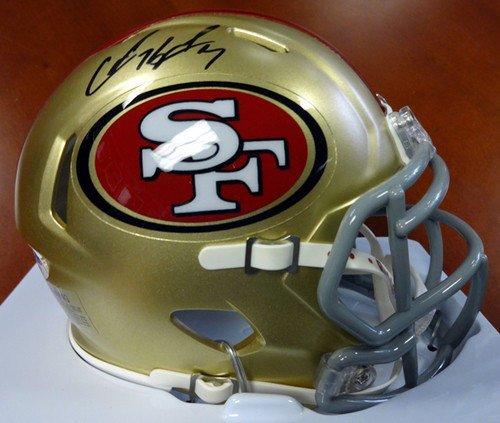 ned San Francisco 49ers Speed Replica Mini Helmet - PSA/DNA Authentication - Autographed NFL Football Helmets ()