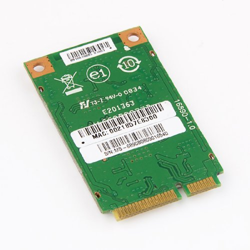 Amazon.com: Ralink Mini PCIe Wireless Lan Card RT2790T MSI COMPUTER MS-6890 802.11b/g/n 150Mpbs 5Ghz / 2.4 GHz: Computers & Accessories