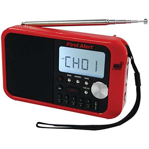 First Alert Weather Radio,Red/Black (SFA1100) by First Alert