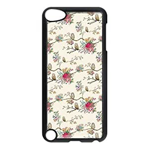 Cute Floral Pattern Hard Snap-On For SamSung Galaxy S5 Case Cover
