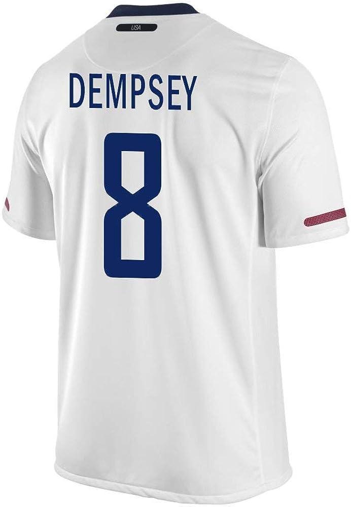 Dempsey #8 USA Home Soccer Jersey