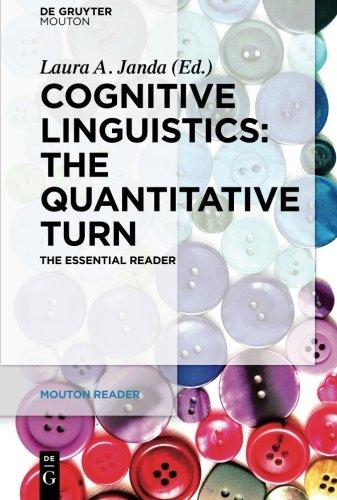 Cognitive Linguistics  The Quantitative Turn (Mouton Reader)