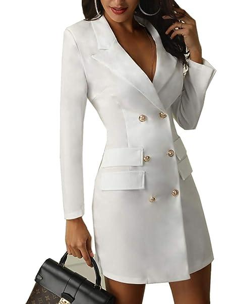 Vestido de Vestir de Mujer de la Chaqueta de Vestir Solapa ...