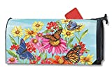 Field of Butterflies Magnetic Mailbox Cover - LARGE SIZE