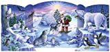 Vermont Christmas Company North Pole Friends Free Standing Advent Calendar
