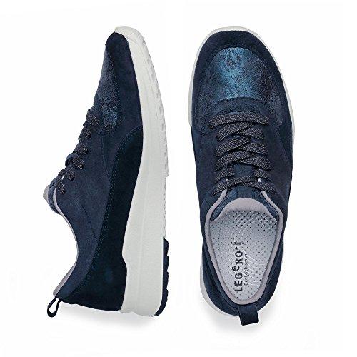 Legero Marina - Zapatillas Mujer azul oscuro