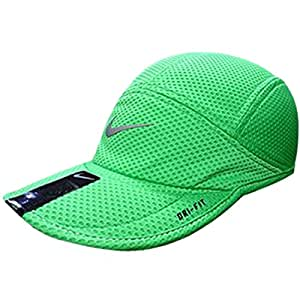 Mens Nike Dri-Fit Mesh Daybreak Hat (Green /Reflective Silver, One Size)