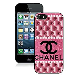 Fashion And Durable iPhone 5 Case Designed With Chanel 42 Black Phone Case For iPhone 5 Cover