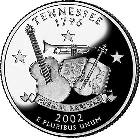 2002 P Tennessee  50 States Quarter • BU • #1012