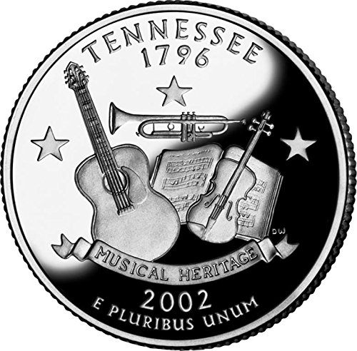 2002 Tennessee – D State Quarter Roll