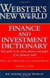 Webster's New World Finance and Investment Dictionary