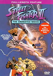 Amazon.com: THE ANIMATED MOVIE: Street Fighters 2: Cine y TV