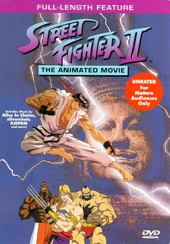 Amazon Com The Animated Movie Street Fighters 2 Movies Tv