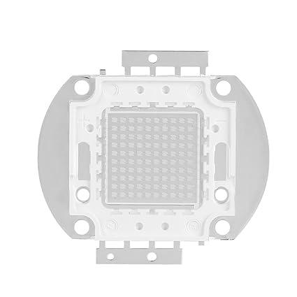 Bombilla LED chip, Chip de alta potencia, 50W UV395-400Nm LED Ultravioleta UV