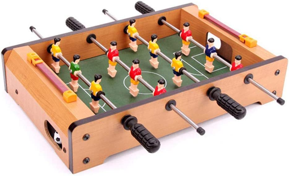 Womdee Juego de futbolín clásico de Madera (fútbol): Amazon.es: Hogar