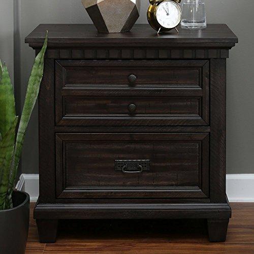tstand in Smokey Gray Oak (Cedar Oak Table)