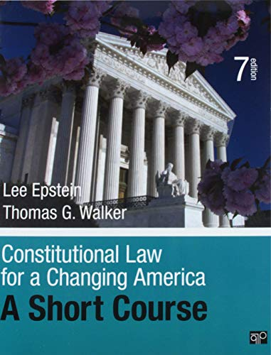 BUNDLE: Constitutional Law for a Changing America Short Course 7e + Constitutional Law for a Changing America Online Resource Center 9e