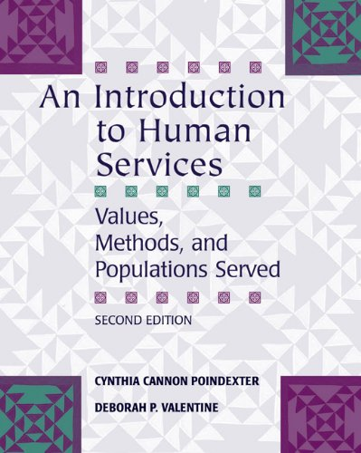 Download An Introduction to Human Services: Values, Methods, and Populations Served Pdf