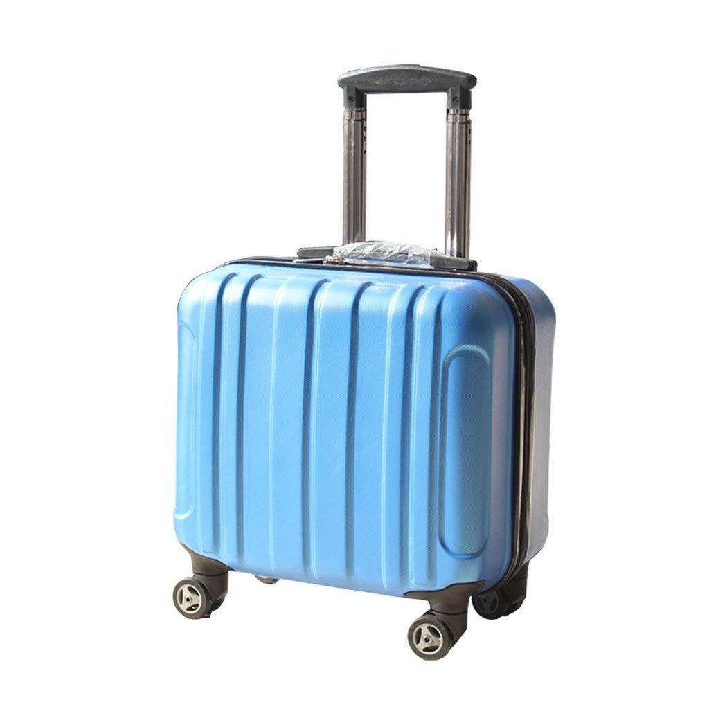 スーツケース超軽量ABSハードシェル旅行は4つのホイール、航空&詳細情報のために承認されたハードシェルトロリーサイズのアドオンキャビンハンド荷物スーツケースキャリー   B07P6HSZYH