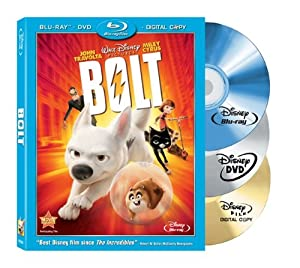 Cover Image for 'Bolt (Three-Disc Edition w/ Standard DVD + Digital Copy)'