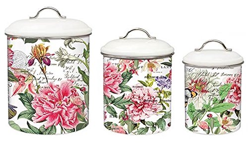 kitchen canister set metal - 2