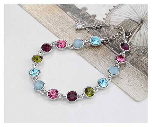 Luck Wang Woman's Unique New Simple Wild Fashion Colorful Flowing Star Bracelet(Muilt) (Major Egyptian Gods)