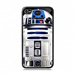 Star wars R2D2 robot Custom Case Cover Custom iPhone for iPhone 5 5s protective Durable case