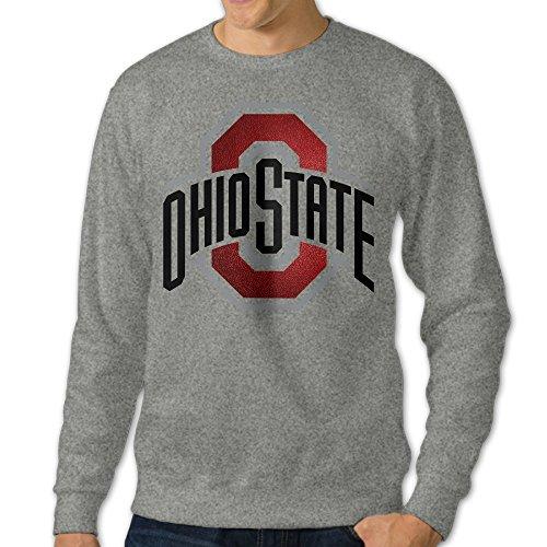 [U9 Men's Ohio State University Columbus Crew-Neck Sweat Shirt] (Columbus Ohio Halloween)