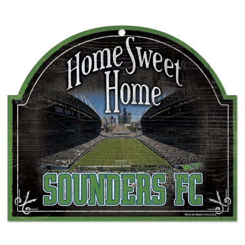 SOCCER Seattle Sounders 48261011 Wood Sign, 11