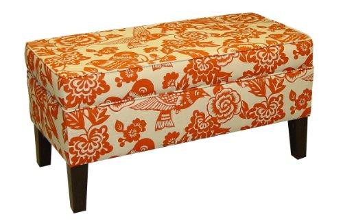 Amazon Com Skyline Furniture Modern Upholstered Storage