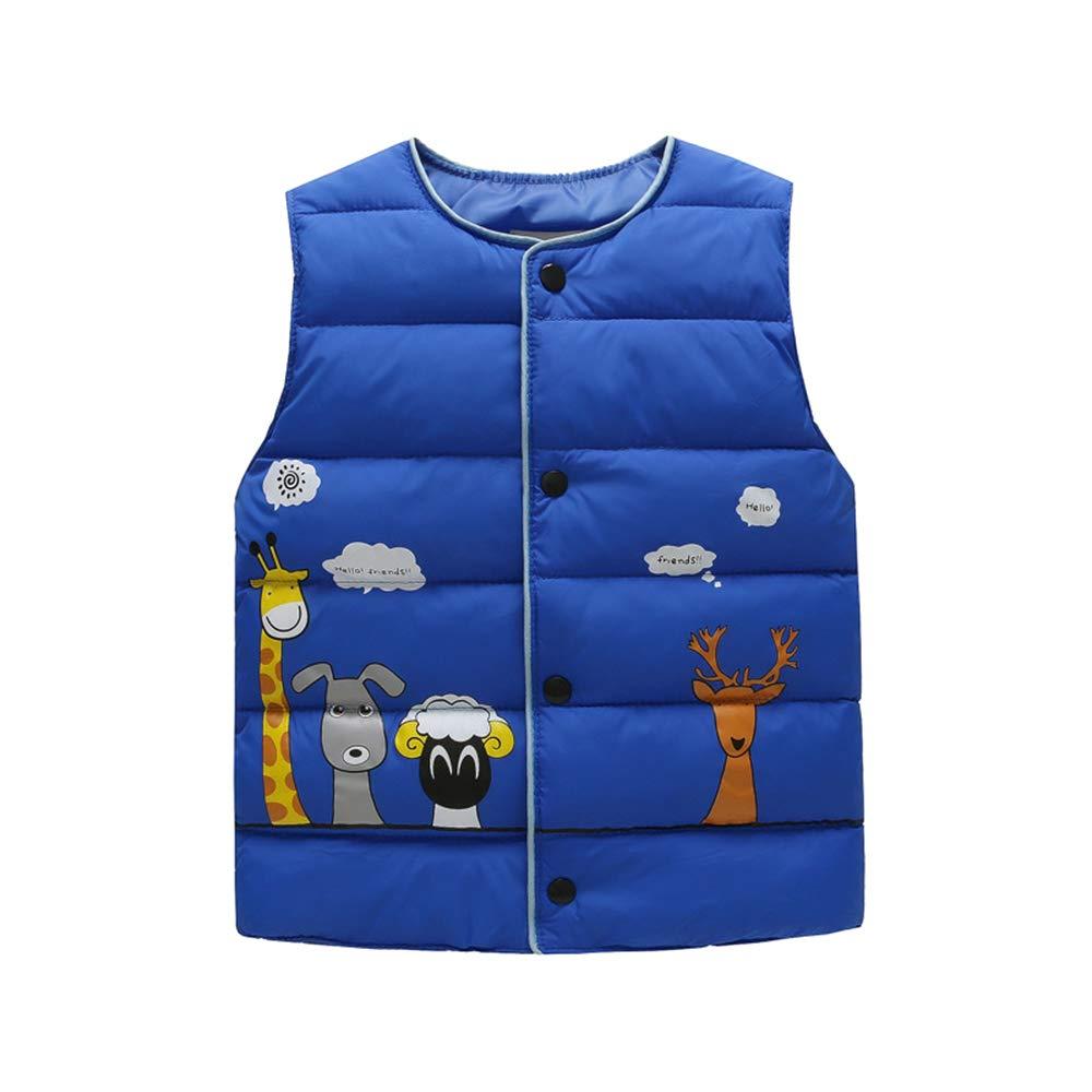 Jacket Round Neck Vest Casual Waistcoat XFentech Baby Boys Girls Gilets