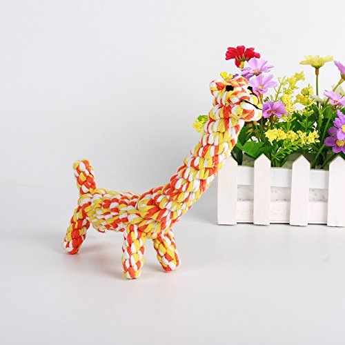 LOONG-BABY-Cotton-Dental-Teaser-Teeth-Cleaning-Puppy-Pet-Chew-Rope-Toys-for-Small-Dog-Biting-1-Pcs-Giraffe