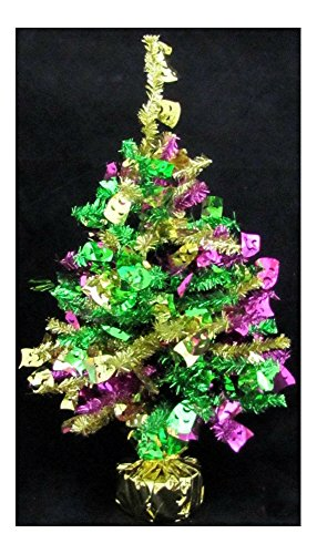 Mardi Gras Table Centerpiece Balloon Weighted Holder Tree Party 20