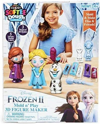CraZart Softee Dough Toy Story Mold N Play 3D Figure Maker