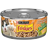 Purina® Friskies® Tasty Treasures™ with Chicken & Cheese in Gravy Cat Food 156g Can